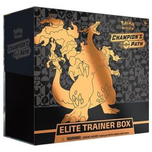 Champion's Path Elite Trainer, Champion's Path Release, Champion's Path Elite Trainer, Elite Trainer Boxes, Champion's Path Elite Trainer