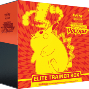 Vivid Voltage Elite Trainer, Vivid Voltage ETB Sealed Case