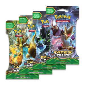 XY Fates Collide Sleeved Booster Pack