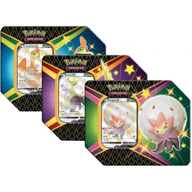 Pokemon Shining Fates 5 Mini-Tins set PRE-ORDER Ships 2//19//21