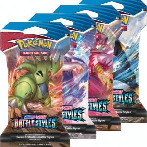 Battle Styles Sleeved Booster