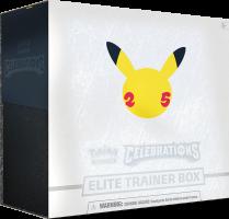 Celebrations Elite Trainer Box, Pokémon Celebrations