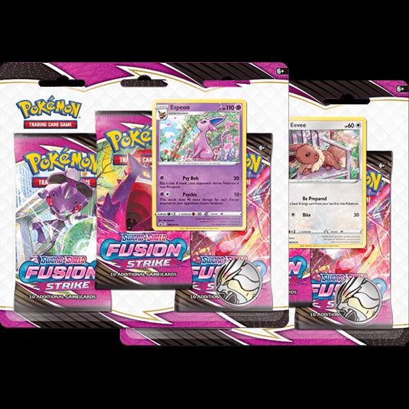 Fusion Strike 3 Pack Blister